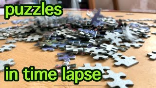 Puzzles |  assembling a puzzle in time lapse |  process Пазлы | сборка пазла в time lapse | процесс