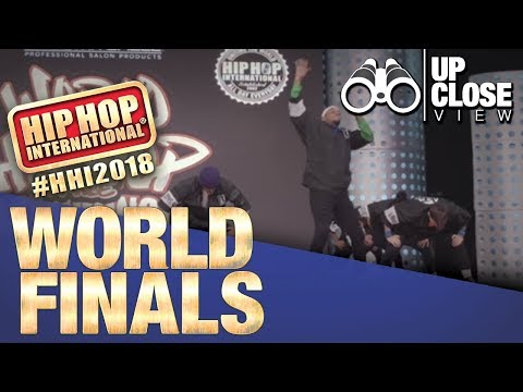UpClose View: Da' Republik - Dominican Republic | Silver Medalist Adult at HHI's 2018 World Finals