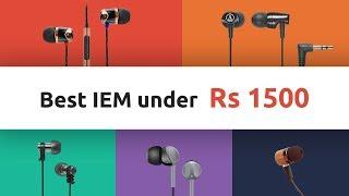 Video Best Budget IEM Earphones under Rs 1500 - April 2018 | Digit.in | Digit.in download MP3, 3GP, MP4, WEBM, AVI, FLV Juni 2018