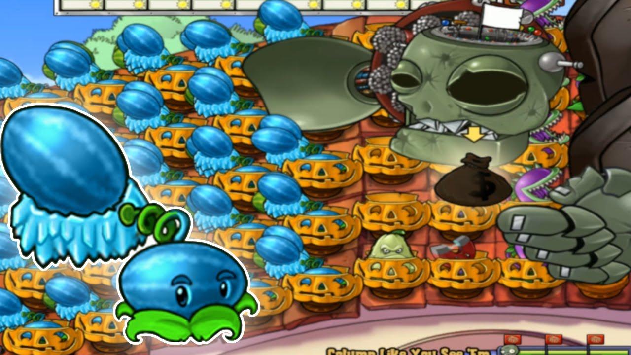 999 Winter Melon vs Zombot vs Gargantuar Plants vs Zombies Hack