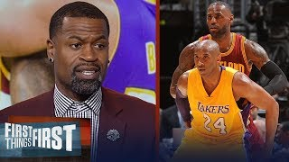 Stephen Jackson disagrees with Kobe calling out LeBron's leadership flaws | NBA | FIRST THINGS FIRST
