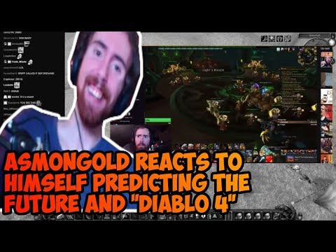 Asmongold reacts to Himself being an oracle, Blizzcon questions and Diablo 4