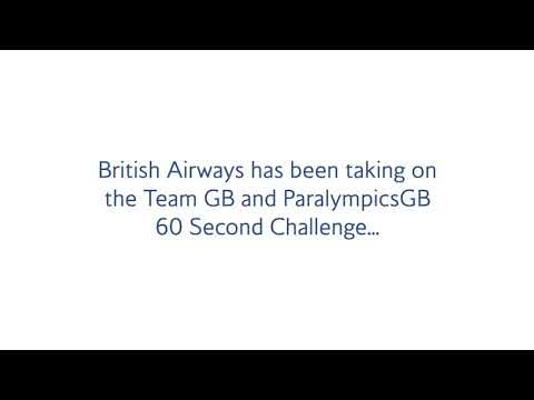 Robyn Love ParalympicsGB and British Airways 60 second challenge part 4