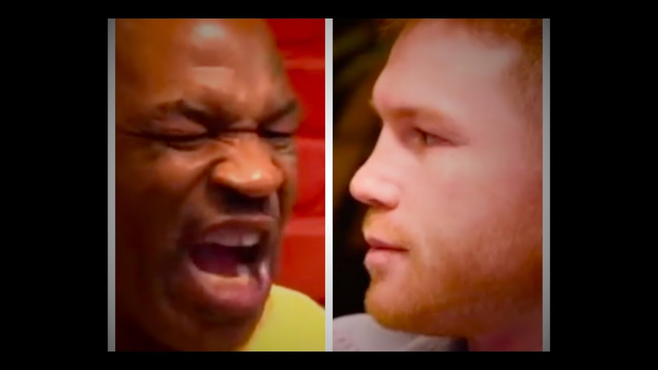 Mike Tyson loses his cool with Canelo Alvarez...