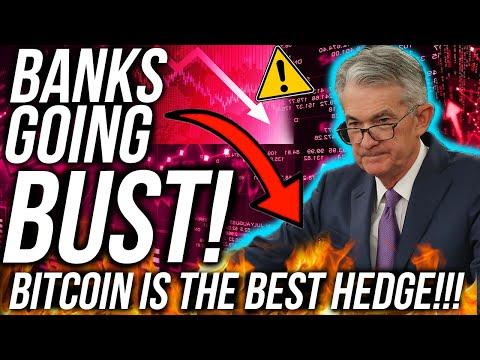 BREAKING! BANKS GOING BUST!! STOCK MARKET ON EDGE! BITCOIN & ETHEREUM BULLISH!? Crypto News
