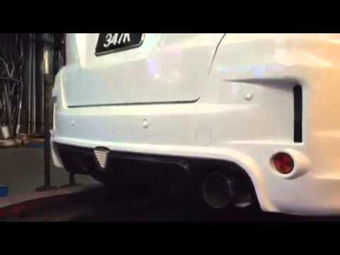 Honda Jazz / fit 1 5L GK5 - HKS silent Hi power exhaust system by