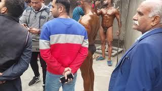 Mr. Pakistan 2019 Bodybuilding backstage
