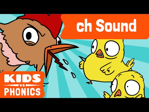 ch | Fun Phonics | How to Read | Made by Kids vs Phonics