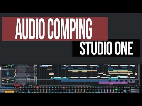 Audio Comping   Studio One 3
