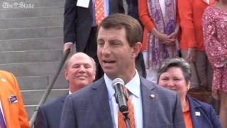 Dabo Swinney and Clemson honored at the SC State House
