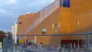 "Böblingen - Neues Shopping-Center ""MERCADEN"", neuer Bahnhof (-svorplatz) - 1 Woche v o r Eröffnung"