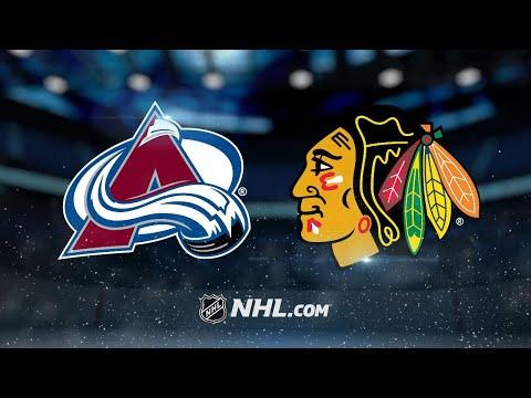 Toews lifts Blackhawks past Avalanche in OT, 2-1