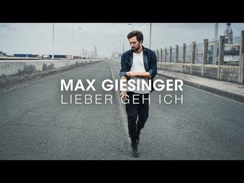 Max Giesinger - Lieber geh ich (Offizielles Audio)