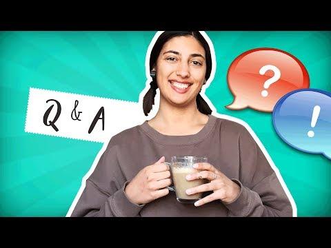 Q&A - Šta je detox? Kako živim sa toliko mačaka? Čega se plašim? / Vege Breskvica