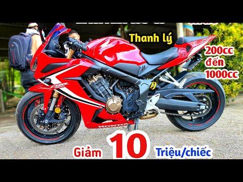 Giá xe moto kawasaki, yamaha, honda thanh lý đồng loạt giảm mạnh 10 triệu | xe máy giá rẻ