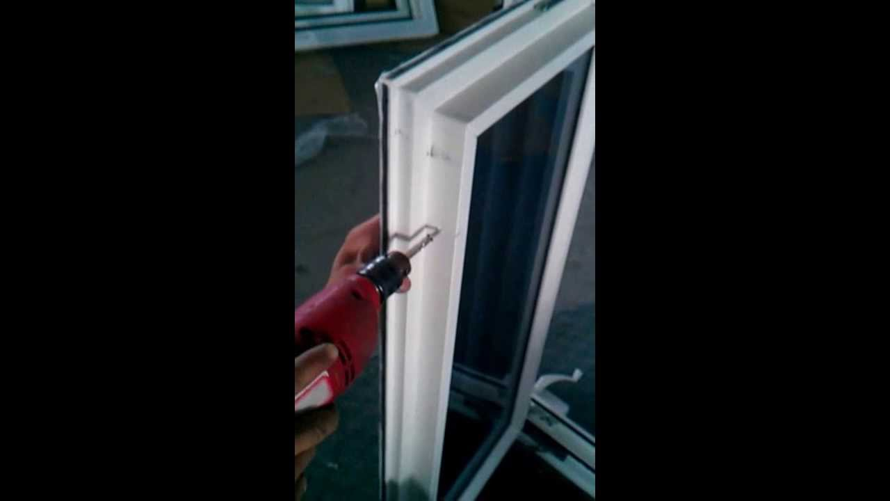 crank out windows replacement how to install hardware for vinyl crank out windows part youtube