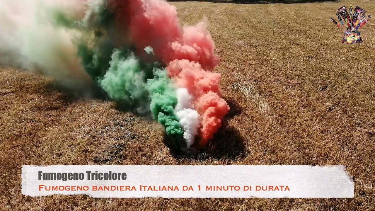 Fumogeno Tricolore (Bandiera Italiana)
