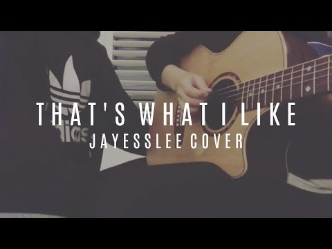 That's What I Like - Jayesslee Cover (Official Audio) Available On Spotify And ITunes