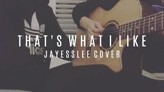 That's What I Like - Jayesslee Cover (Official Audio)
