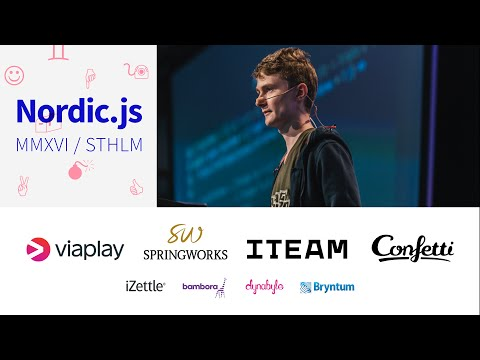 Nordic.js 2016 • William Berglund - Declarative testing of virtual DOM trees • Lightning talk