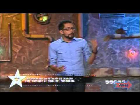Los comediantes de la noche 6 de julio Frank martinez parte 4