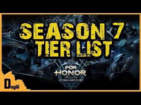 For Honor - Season 7 Tier List