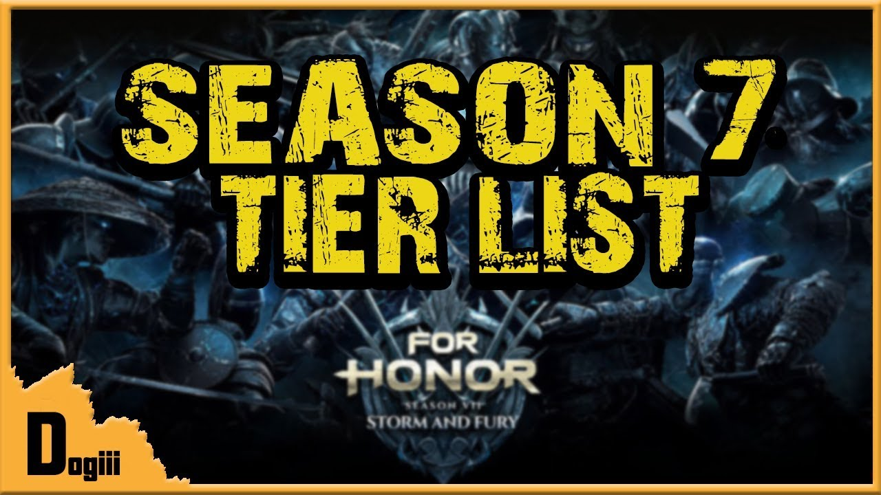 for honor tier list season 5