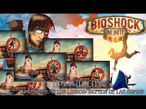 Bioshock Infinite | Tips y Trucos | Como Farmear los Logros/Trofeos de las Armas