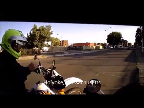 Motorcycle Ride Holyoke, Massachusetts (UrbanCross)