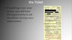 Traffic Ticket Dismissal - How To Get Yours Dismissed