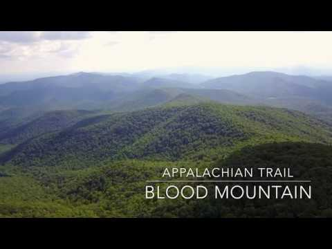 Hiking the Appalachian Trail - Blood Mountain Georgia 4K
