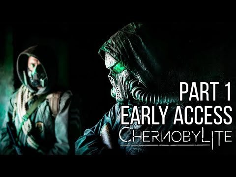 CHERNOBYLITE Gameplay Walkthrough Part 1 No Commentary - Chernobylite Early Access