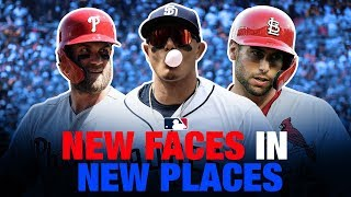 New Faces, New Places of 2019 MLB