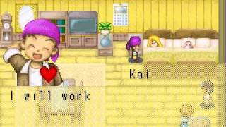 Repeat youtube video Harvest Moon More Friends of Mineral Town Baby's Birth