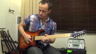 Студент Эд Аитов (Upbeat Blues - Kirill Safonov cover) Guitar-Science.Ru