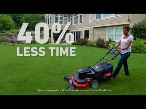 21200 Toro TurfMaster Commercial Mower 30 save time