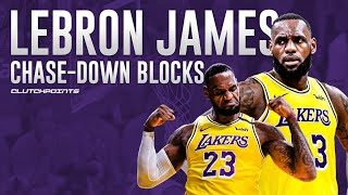 LeBron James' Most Jaw-Dropping Chase-Down Blocks