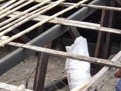 Jf john fredy arreglo techos antiguos con tejas de - Techos con vigas de madera ...