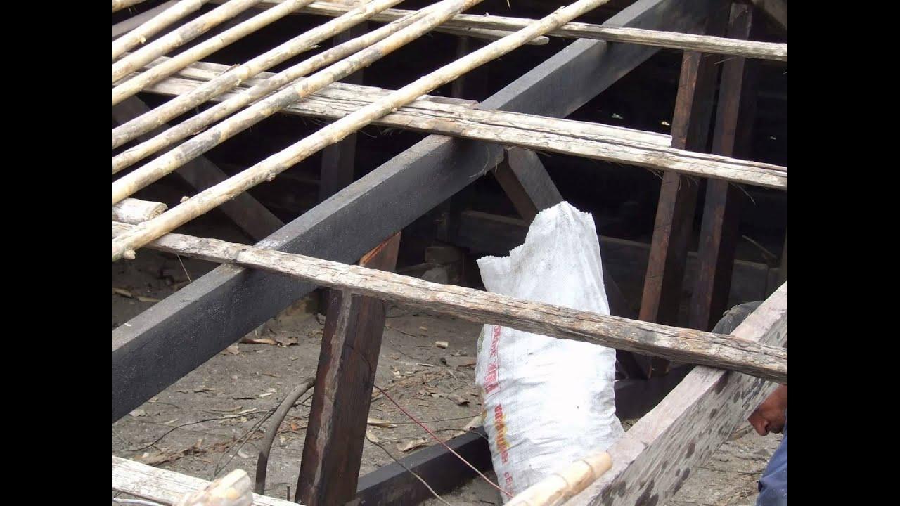 Jf john fredy arreglo techos antiguos con tejas de - Vigas de madera para techos ...