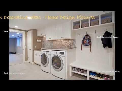 Combined Kitchen Laundry Designs Modern Style Kitchen Decor Design