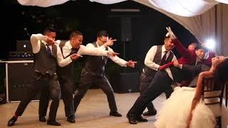 Best Wedding Surprise Disney Performance Ever!