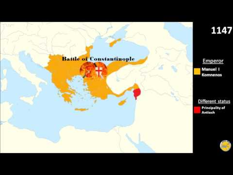 Middle Byzantine Period - part 3, Byzantines and Crusades (1057-1204)