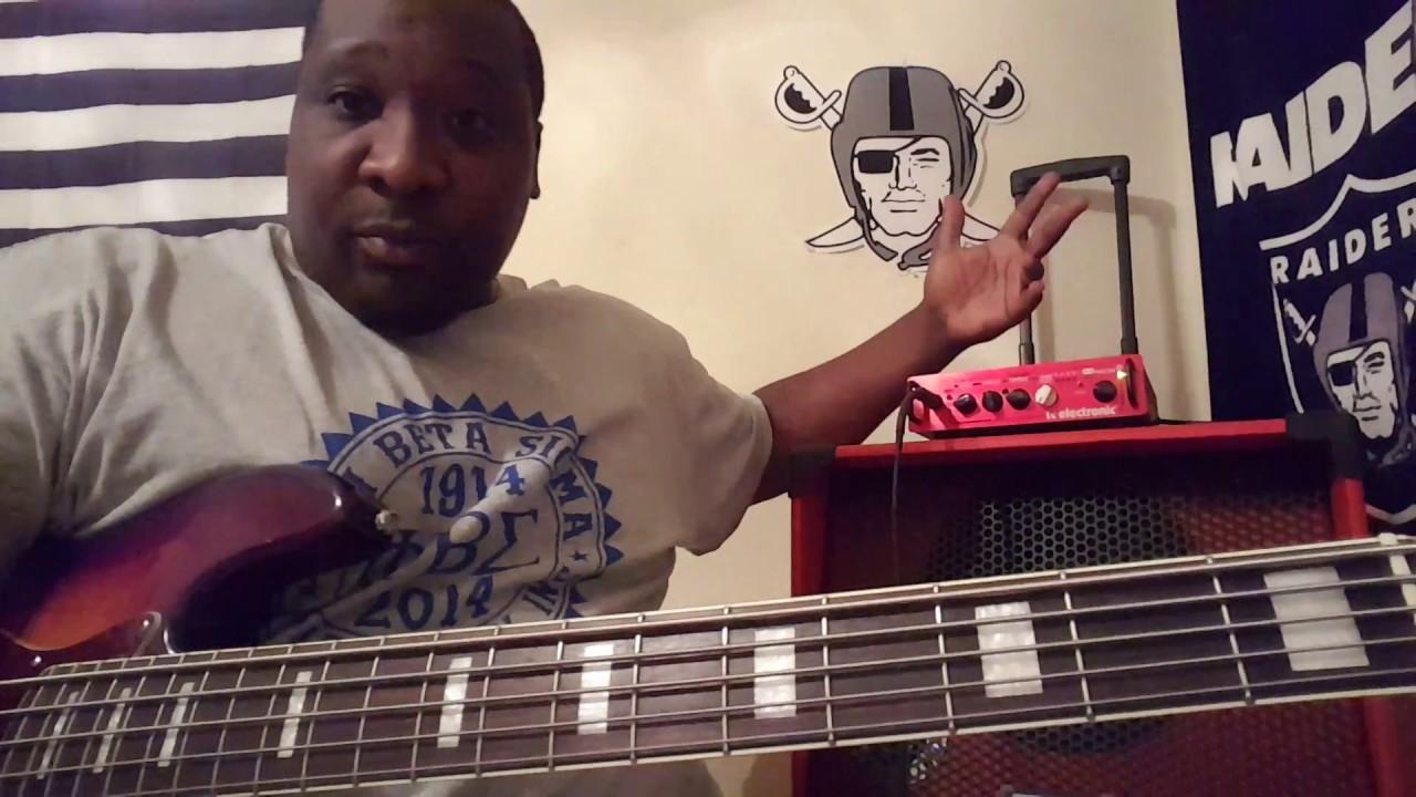 Boom Bass Cabinet 1015 tank demo - YouTube