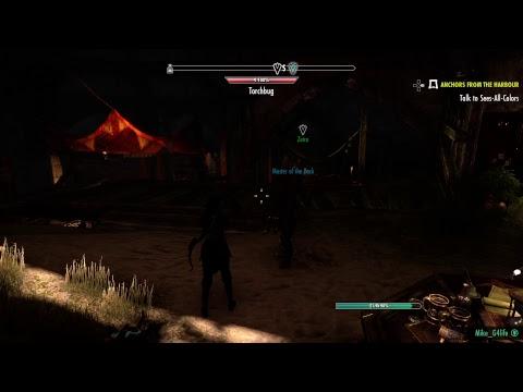 Elder Scrolls Online Broadcast Pt.3 {PS4 Pro With 1080p Enhanced Graphics}