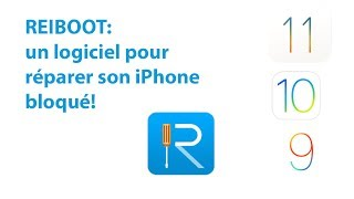 REIBOOT: un logiciel pour réparer son iPhone bloqué sur la pomme n mode recovery!