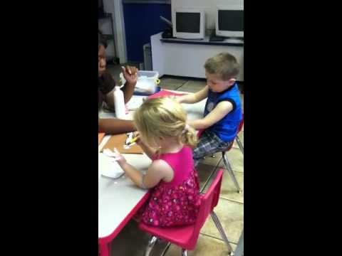 Las Vegas Pre-school Kids Being Creative http://kidzpreschool.com