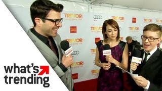 Zachary Quinto Takes Break from Star Trek at Trevor Live (EXCLUSIVE)