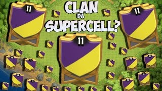 CLÃ DA SUPERCELL - O CLÃ NÍVEL 11 NO CLASH OF CLANS