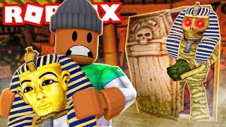 I stole a $50,000,000 JEWEL from the MUMMY BOSS in Roblox Time Travel Adventures!