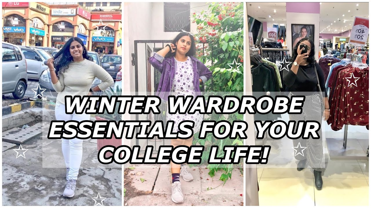 [VIDEO] - WINTER WARDROBE ESSENTIALS FOR YOUR COLLEGE LIFE! 2